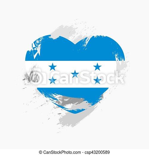 Flag of Honduras - csp43200589