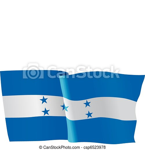 flag of Honduras - csp6523978