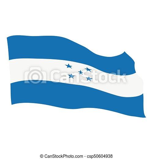 Flag of Honduras - csp50604938