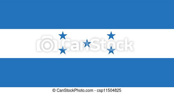 Flag of Honduras - csp11504825