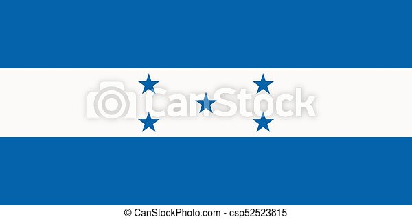 Flag of Honduras - csp52523815