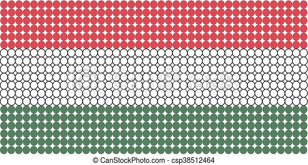 Flag of Hungary - csp38512464
