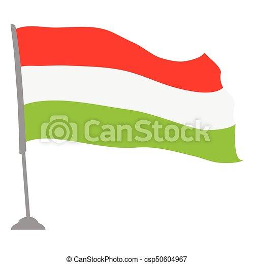 Flag of Hungary - csp50604967