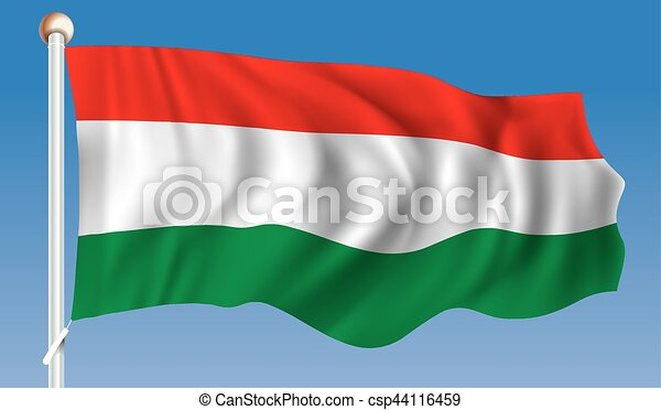Flag of Hungary - csp44116459