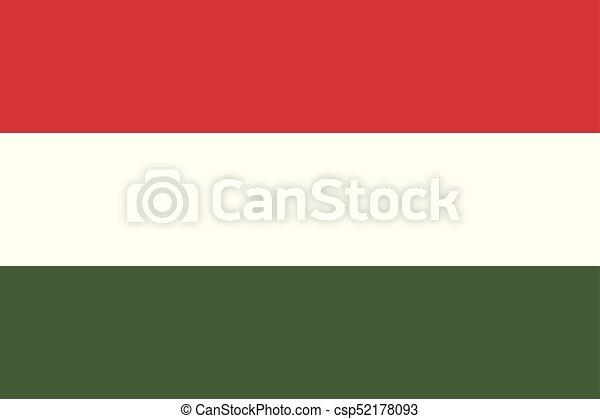 Flag of Hungary - csp52178093