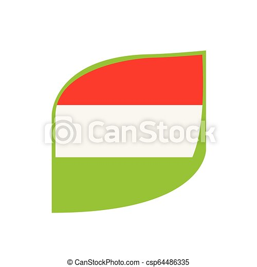 Flag of Hungary - csp64486335