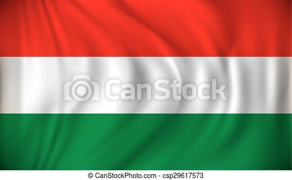 Flag of Hungary - csp29617573