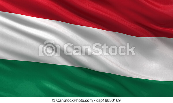 Flag of Hungary - csp16850169