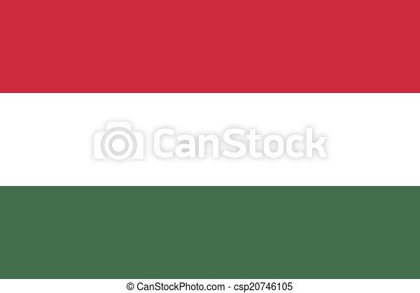 Flag of Hungary - csp20746105