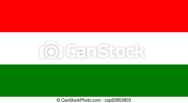 flag of Hungary - csp20853803