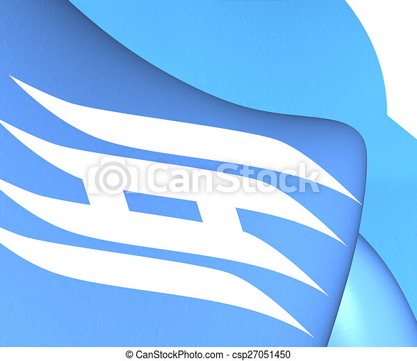 Flag of hyogo prefecture japan close up publicscrutiny Choice Image