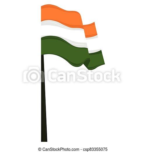 Flag of India - csp83355075