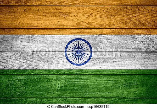 flag of India - csp16638119