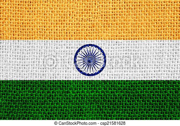 flag of India - csp21581628