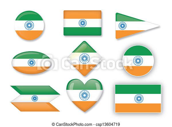 flag of India - csp13604719