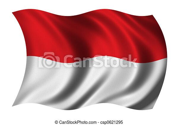 Flag of Indonesia - csp0621295