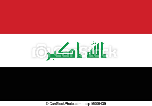 Flag of Iraq - csp16009439