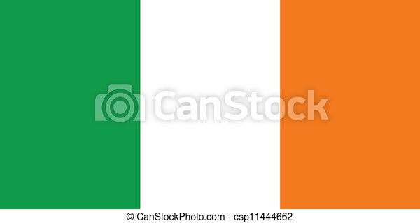 Flag of Ireland - csp11444662