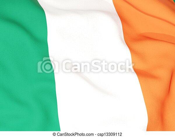 Flag of ireland - csp13309112