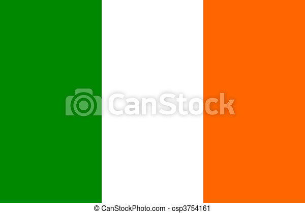 Flag of Ireland - csp3754161