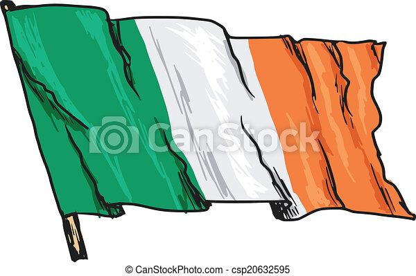 flag of Ireland - csp20632595