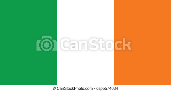 Flag of Ireland - csp5574034