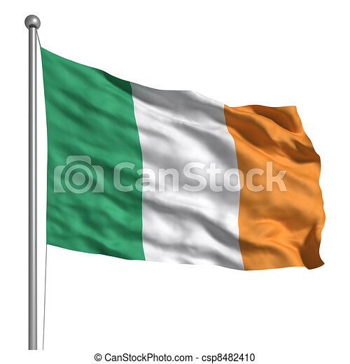 Flag of Ireland - csp8482410