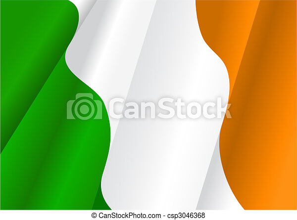 Flag of Ireland - csp3046368