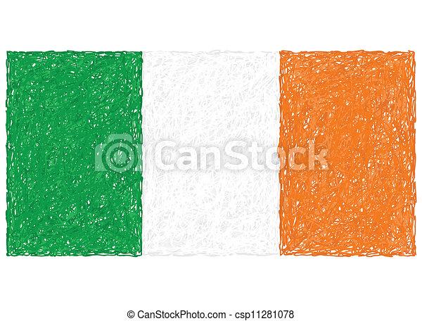 flag of ireland - csp11281078