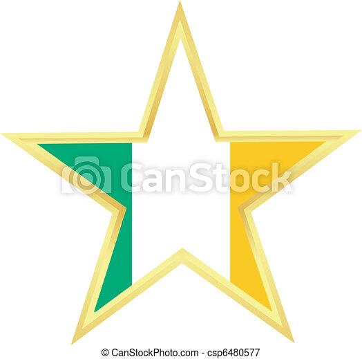 flag of Ireland - csp6480577