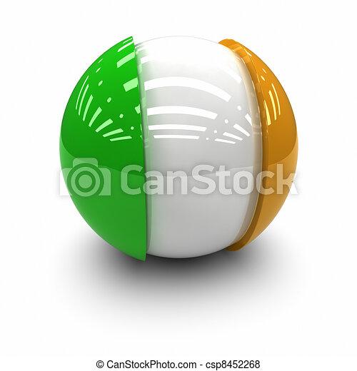 Flag of Ireland - csp8452268