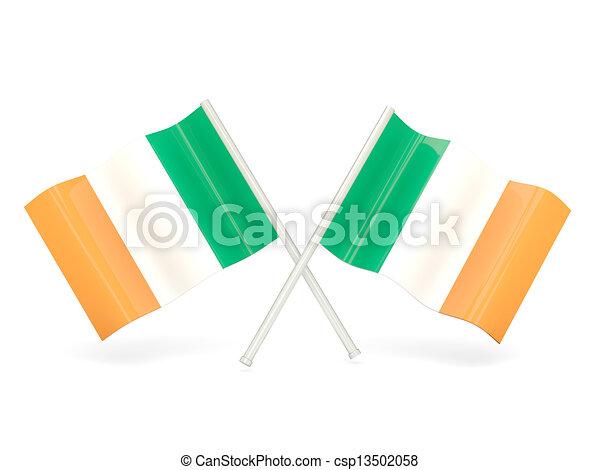 Flag of ireland - csp13502058