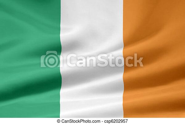 Flag of Ireland - csp6202957