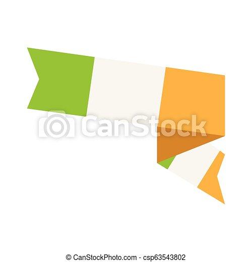 Flag of Ireland - csp63543802