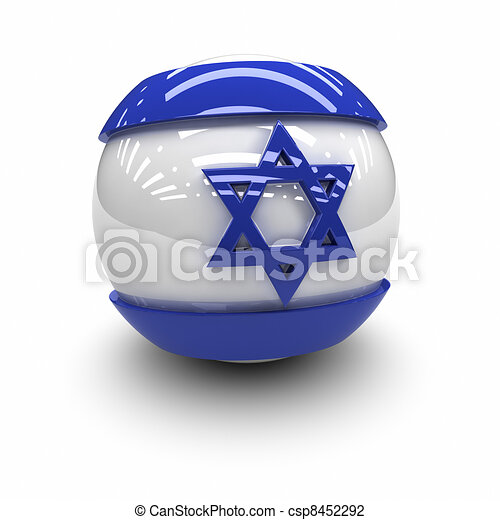 Flag of Israel - csp8452292