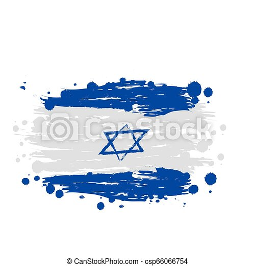 flag of Israel - csp66066754