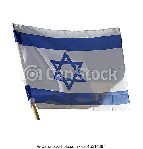 Flag of Israel - csp15314367