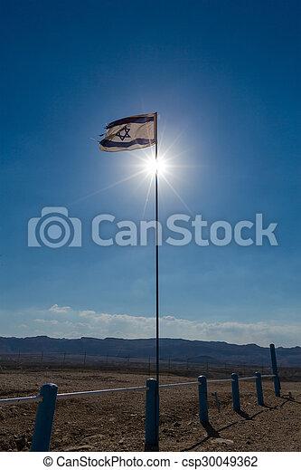 Flag of Israel - csp30049362