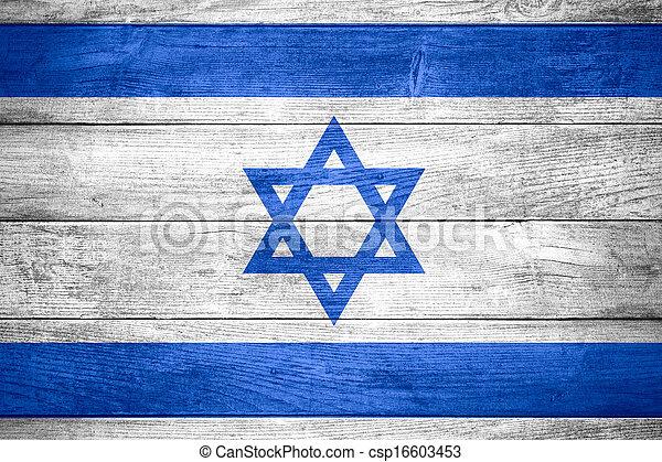 flag of Israel - csp16603453