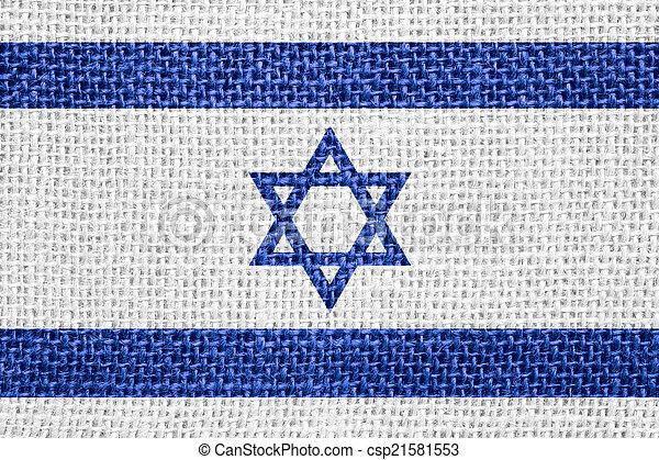 flag of Israel - csp21581553