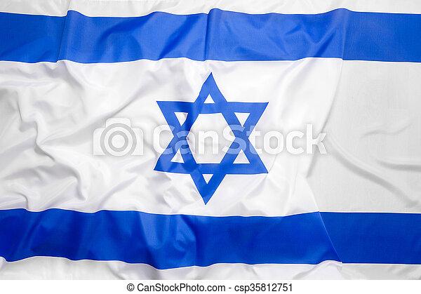 Flag of Israel - csp35812751