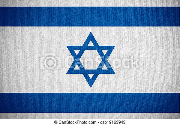 flag of Israel - csp19163943