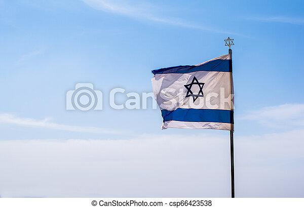 Flag Of Israel - csp66423538