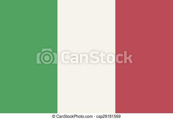 Flag Of Italy - csp29181569