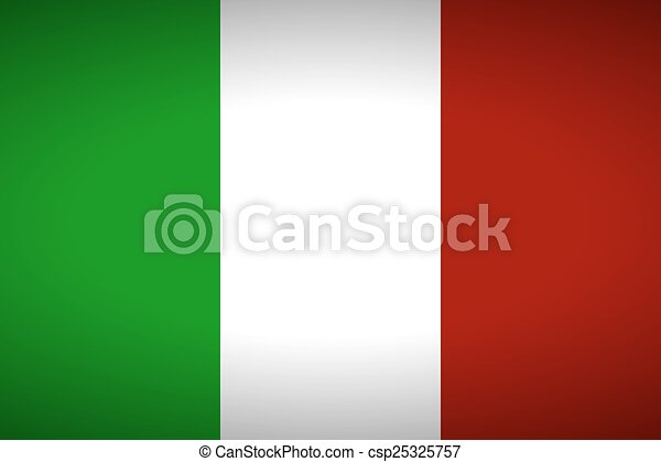 Flag of Italy - csp25325757