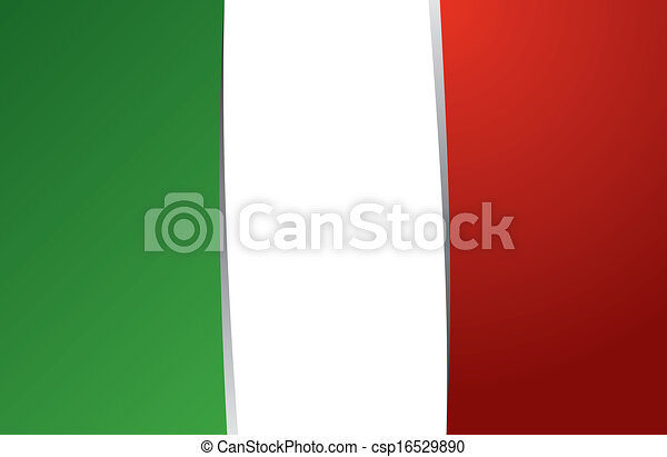Flag of Italy - csp16529890