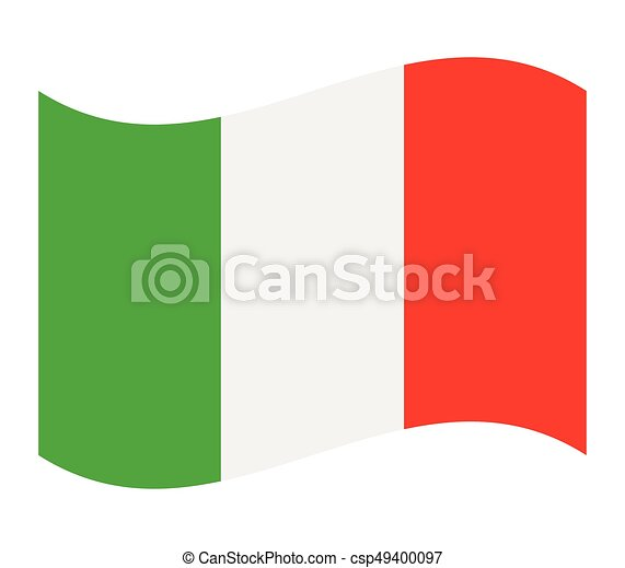 Flag of italy - csp49400097
