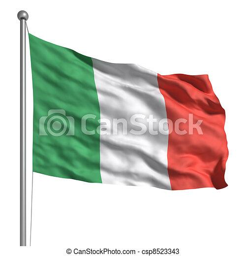 Flag of Italy - csp8523343