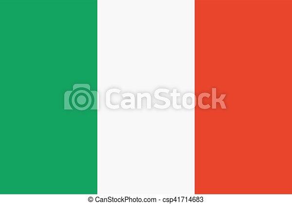 Flag of Italy - csp41714683
