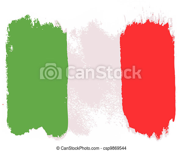 Flag of Italy - csp9869544